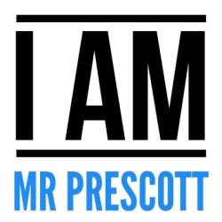 I am Mr. Prescott Logo