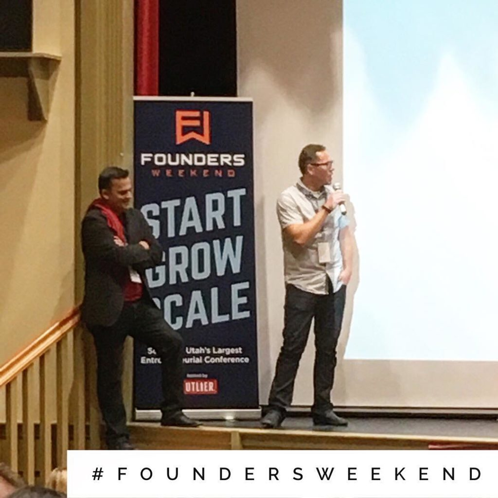 Here at FoundersWeekend with evergonzalez and its just getting started!hellip
