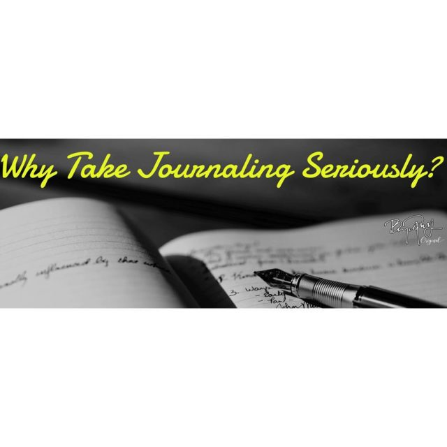 Why take daily journaling seriously?  Simple  Dont youhellip